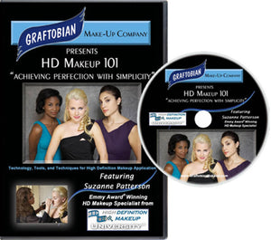 "HD Makeup 101: ""Achieving Perfection with Simplicity"" DVD from Graftobian"