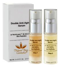 Natural Born Cosmetics Double Anti Aging Serum Treatment