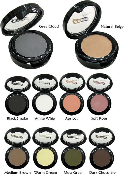 Graftobian UltraSilk Matte Eye Shadow, Individual Compact