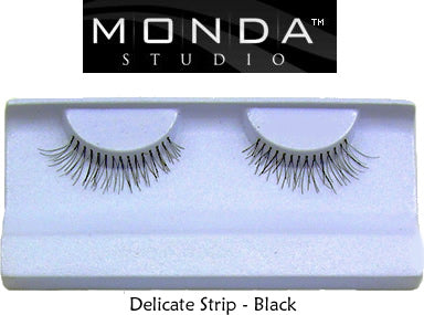 Monda Studio Black Delicate Strip Eyelashes