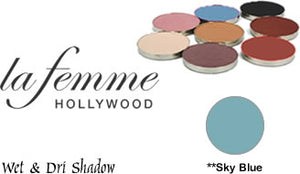 La Femme Wet and Dri Eye Shadow SMALL PAN REFILL