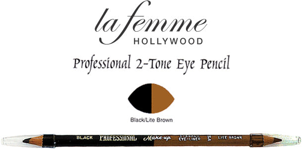 La Femme Professional Two Tone Eye Pencil