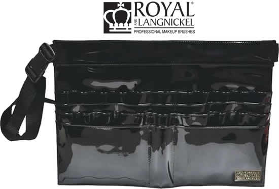Royal and Langnickel Black 28 Compartment Makeup Brush Belt