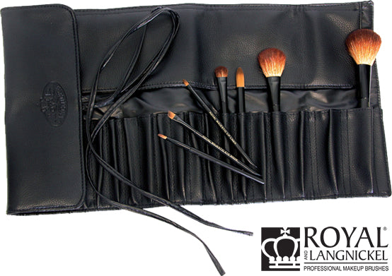 Royal and Langnickel Black 20 Pocket Brush Wrap