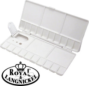 Royal and Langnickel Small White Folding Palette
