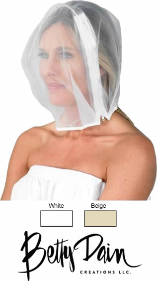 Betty Dain Protector Hood for Hair and Makeup