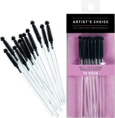 Artists Choice Ball Tip Silicone Mascara Wands