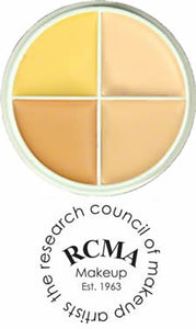 RCMA 4 Color Foundation Counter Shading Highlight Kit