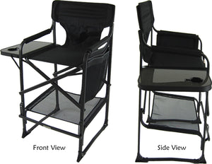 "Pro Ultra Heavy Duty Oversize Makeup Chair, 29"" High Seat"