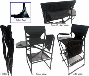 "Pro Edition Makeup Chair, 29"" High Seat"