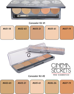 Cinema Secrets Ultimate Corrector 5 IN 1 Pro Concealer Palette