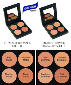 Graftobian Face and Body Bronzer Pro Palette