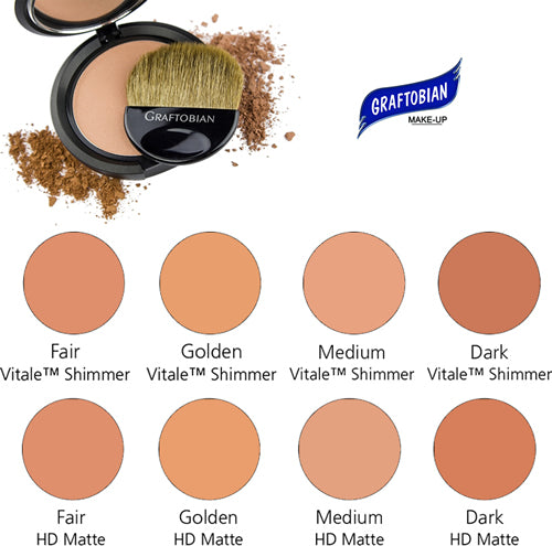 Graftobian Face and Body Bronzer Compact