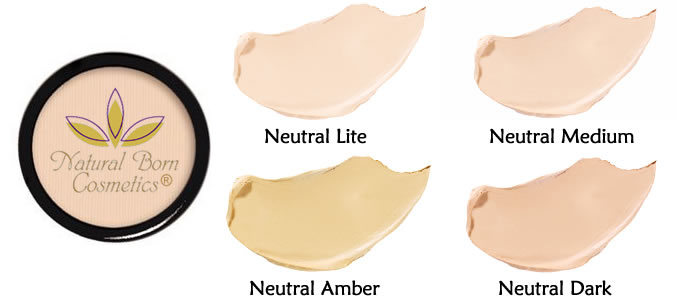 Natural Born Cosmetics Cover and Conceal Creme