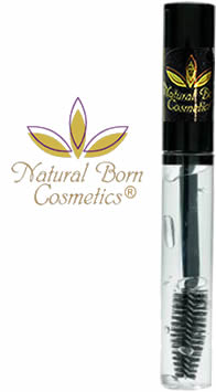 Natural Born Cosmetics Clear Lash Builder Mascara Brow Gel