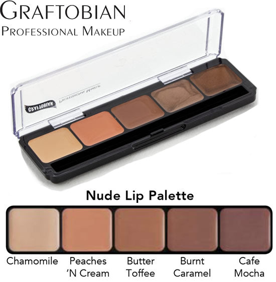 Graftobian HD Nude Lip Palette