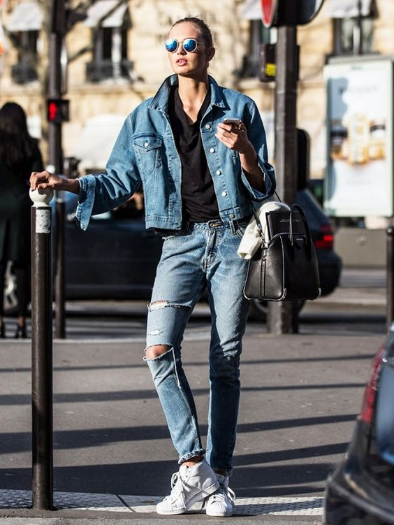 DENIM 101 | HOW TO: JEANS AND SNEAKERS