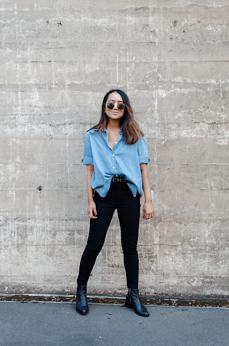 A DAY IN DENIM AT GLUESTORE HQ | ARIANNE WITT
