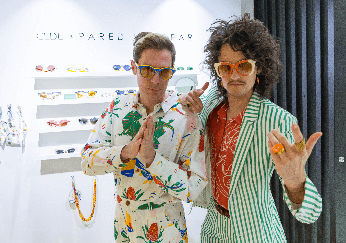 Pared Eyewear x CLCL Glue Pop Up Store Party
