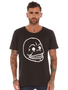Mens Cheap Monday Skull T-Shirt