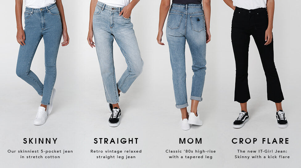 Womens Denim Fits for 2017