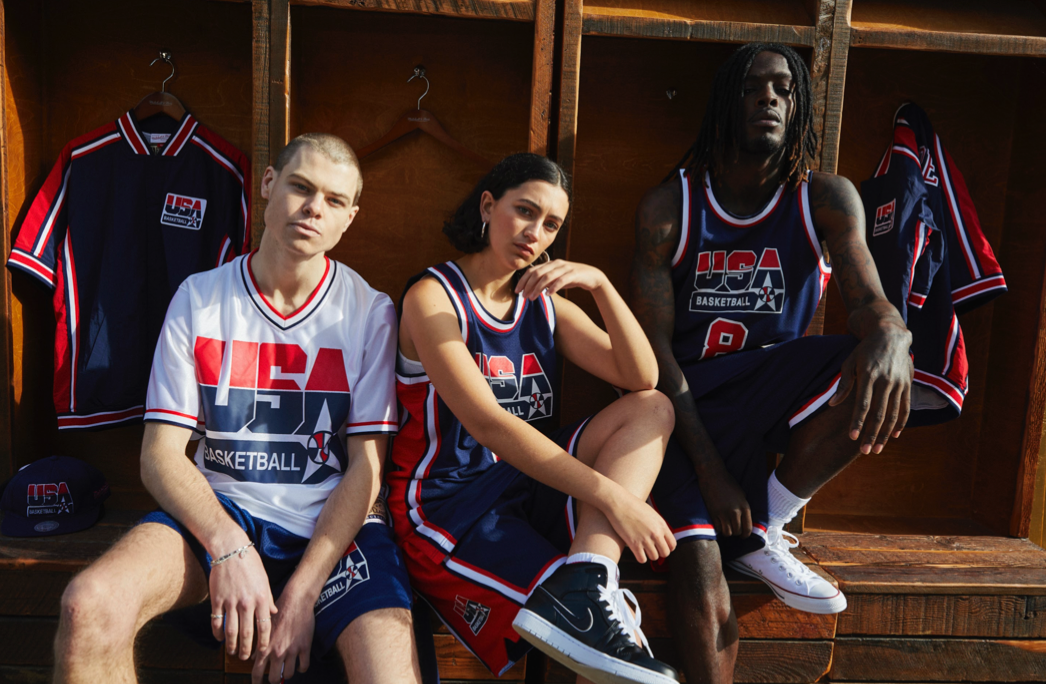 Michell & Ness | Team USA Collection at Glue Store