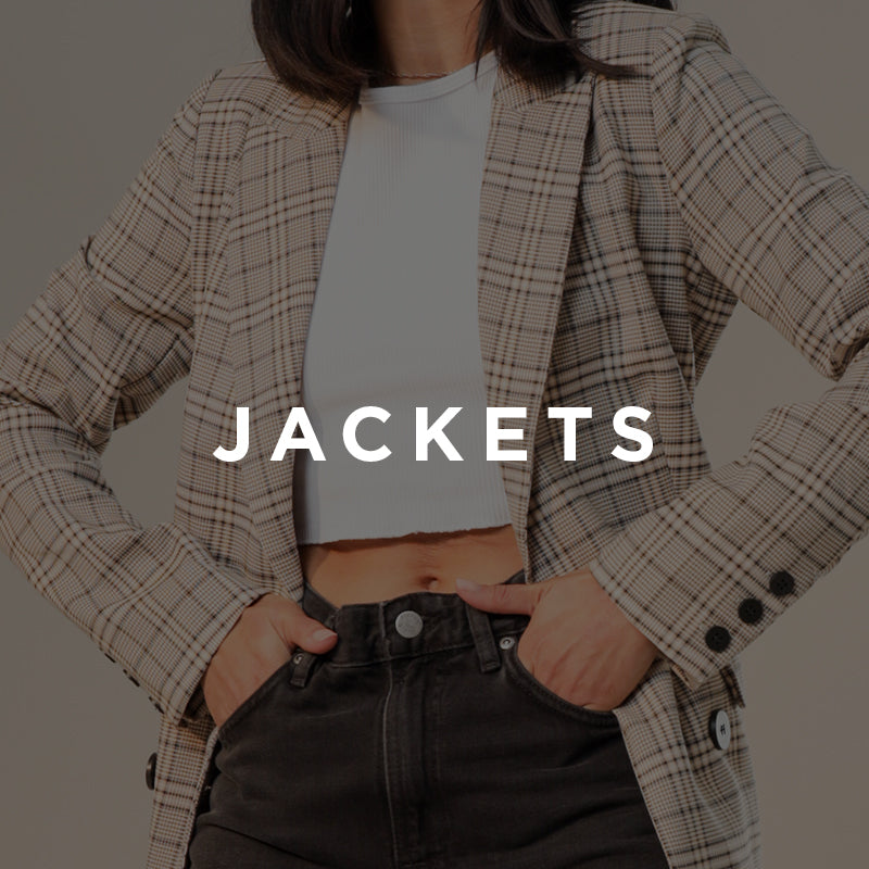 Shop New In Womens Jackets and Puffers Online At Glue Store