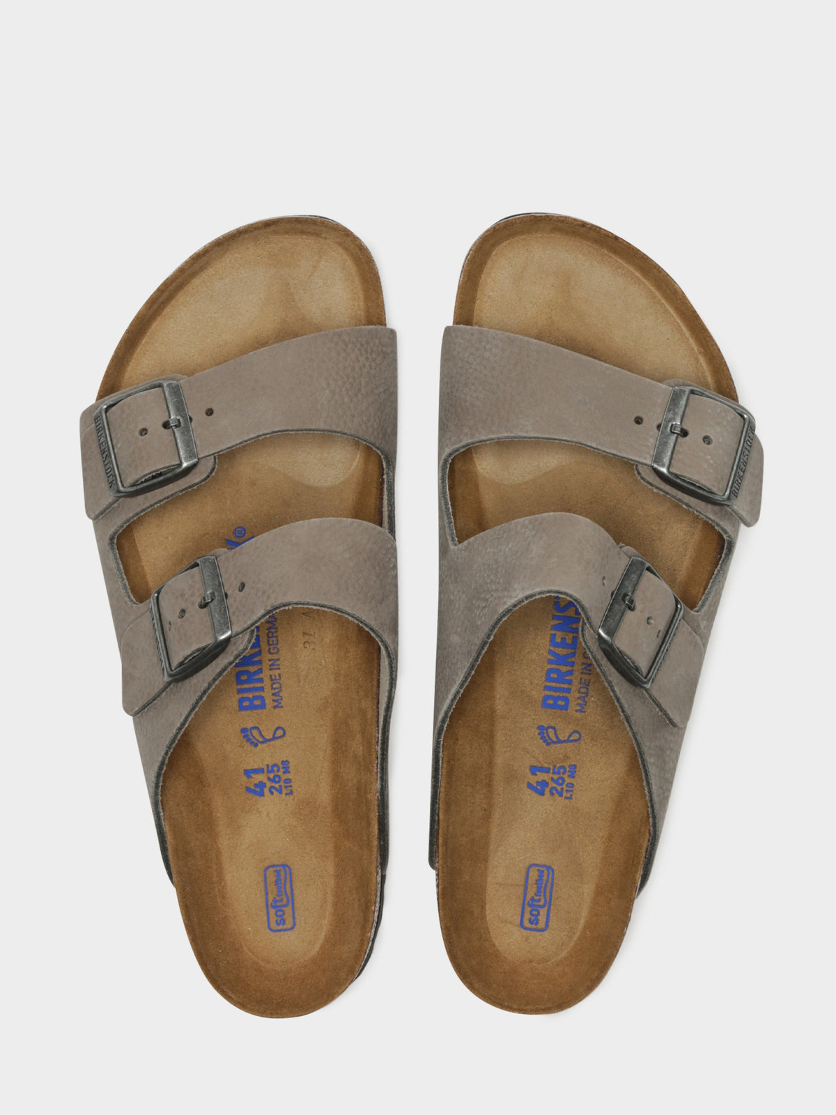 Unisex Arizona Sandal in Soft Whale Grey
