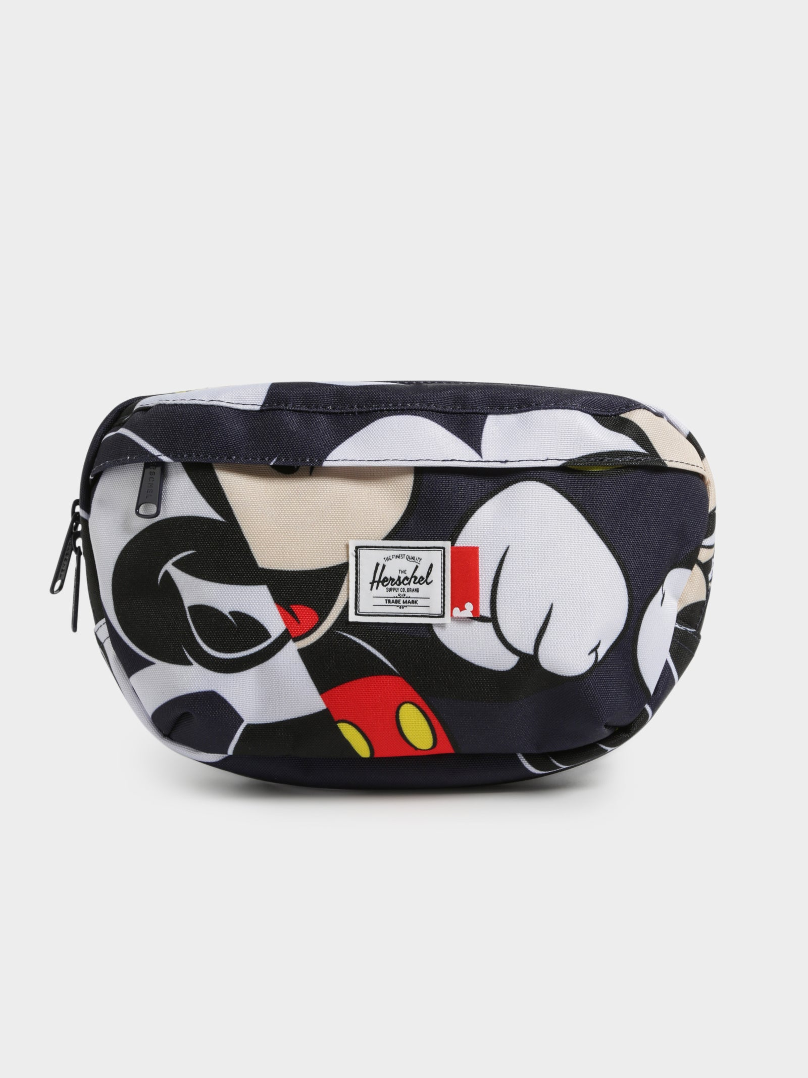 Disney X Herschel Nineteen Hip Pack in Mickey Mouse Past/Future