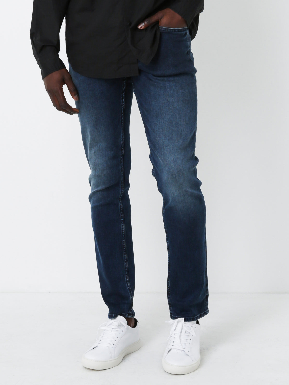Drill ADB 32 Jeans in Blue Denim