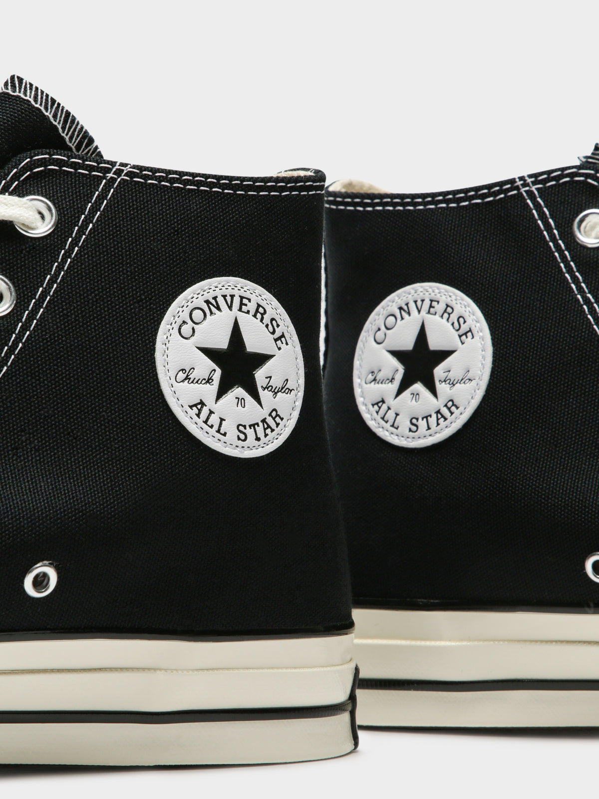 Unisex Chuck Taylor All Star 70 High Top Sneakers in Black