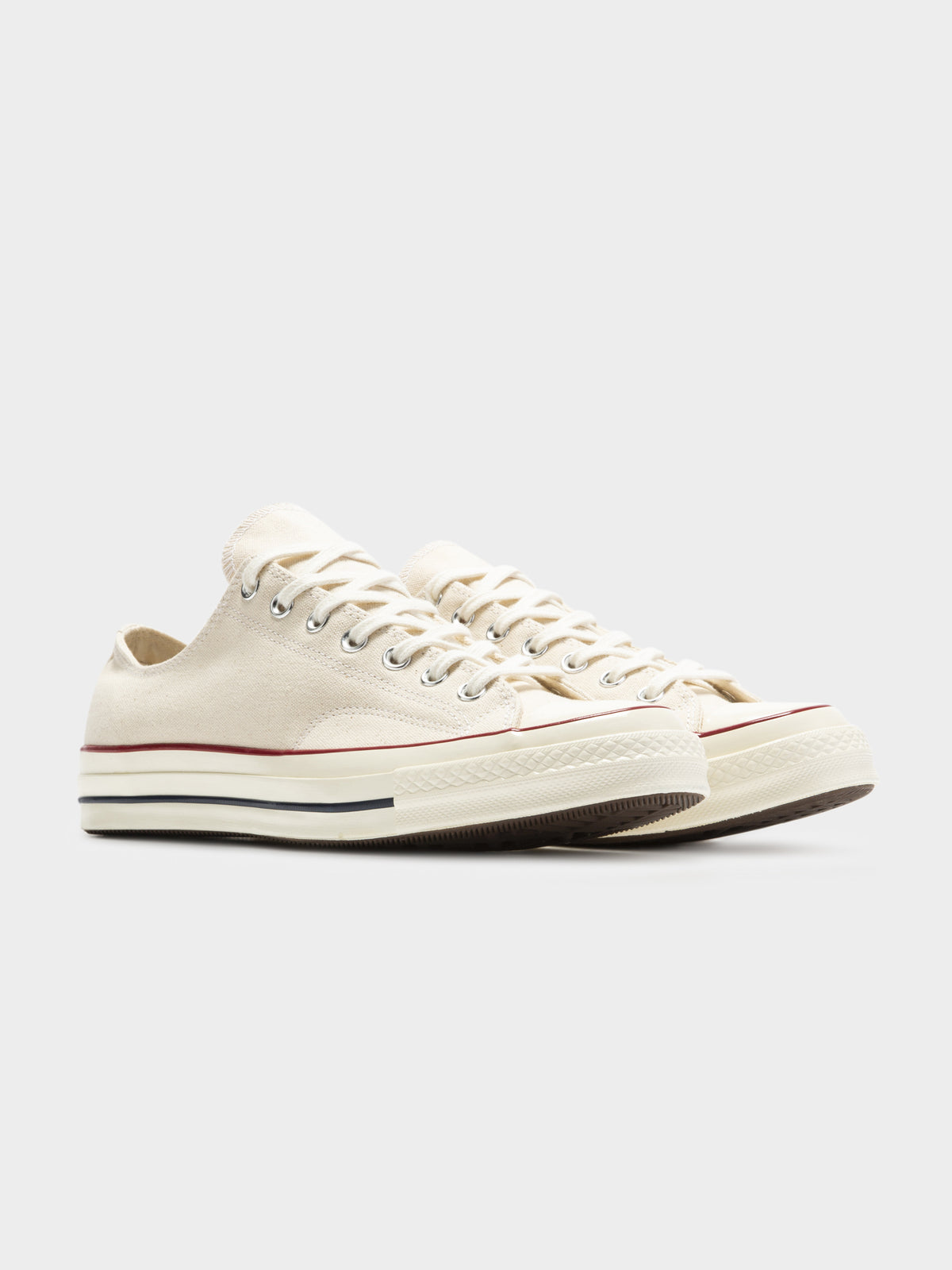 Unisex Chuck Taylor 70 Parchment Low Top Sneakers in White