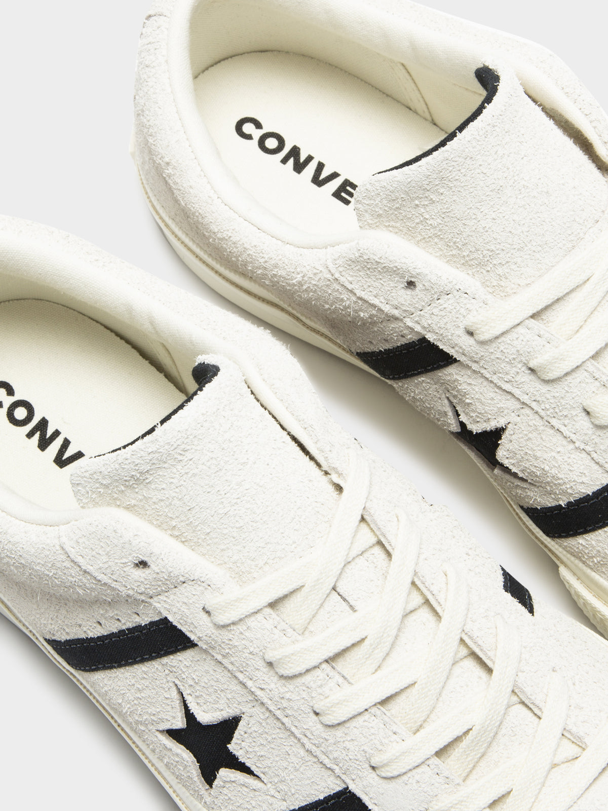 Mens One Star Academy Sneakers in Cream & Black