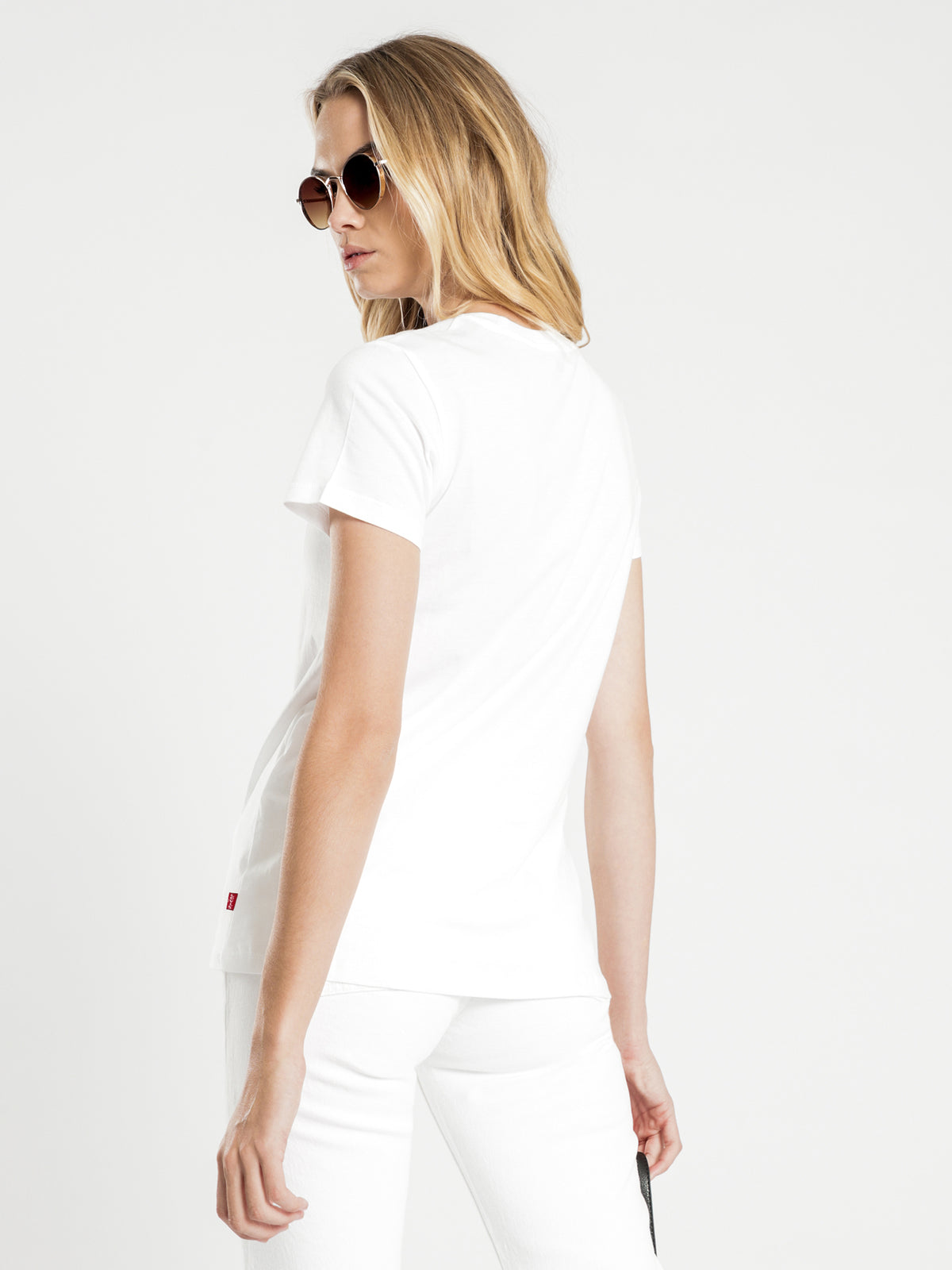 The Perfect Tee in White