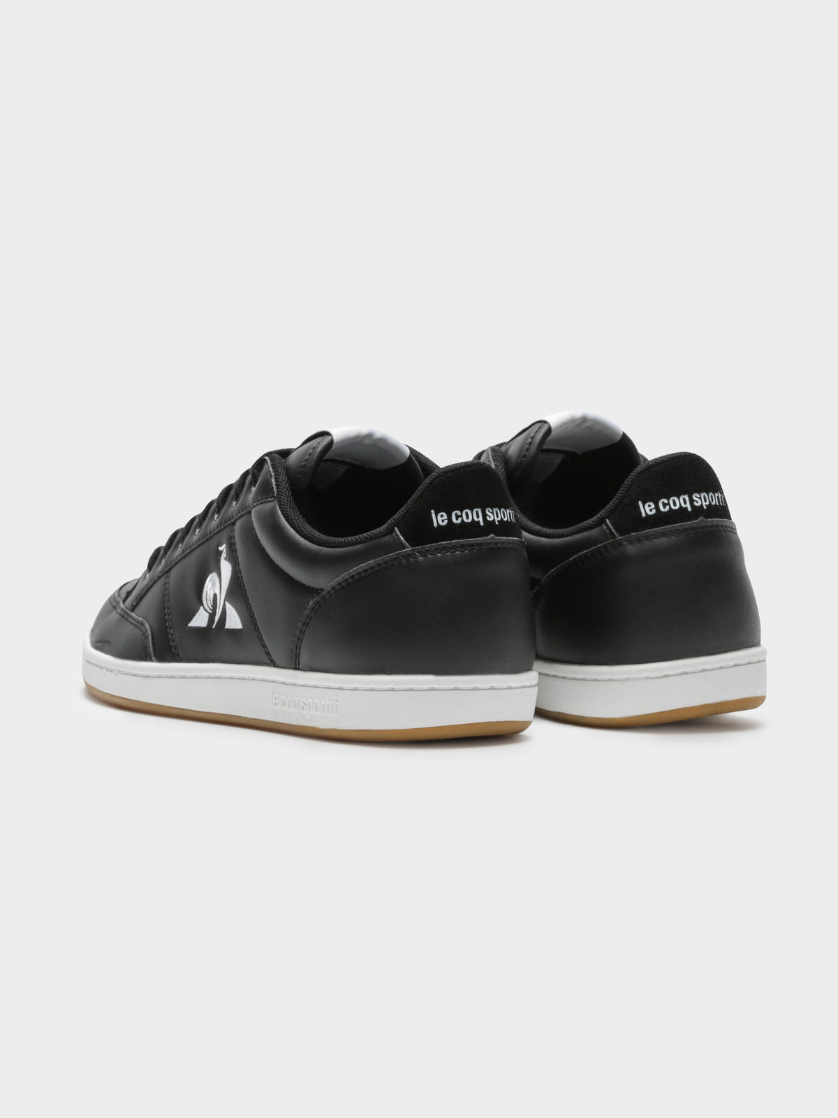 Mens Court Clay Bold Sneakers in Black