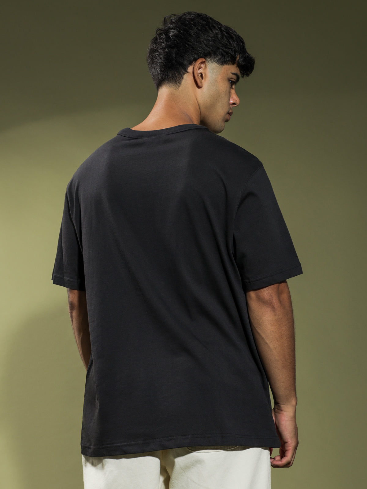 Silicone T-Shirt in Black