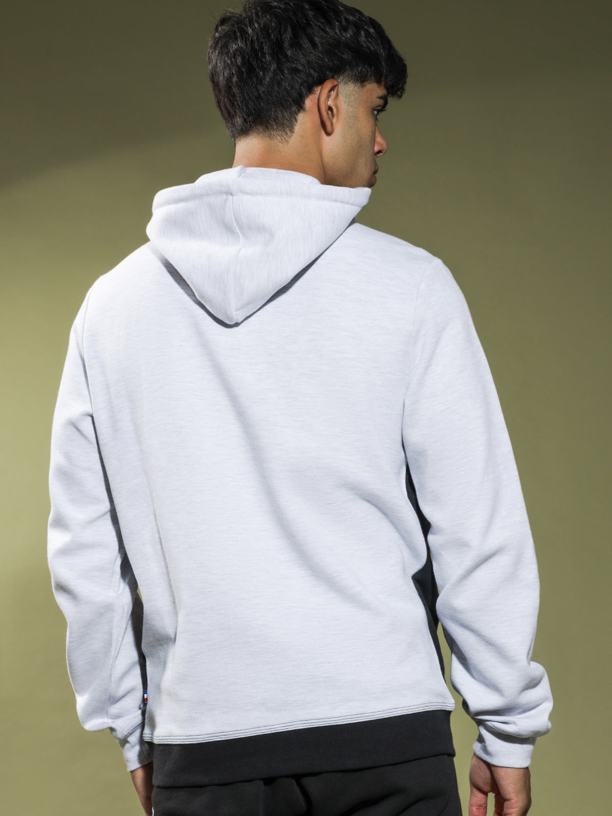 Zanni Hoodie in Snow Marle