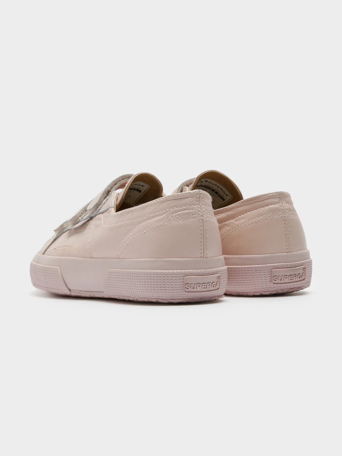 Womens 2750 NAPVW Velcro Sneakers in Pink Skin