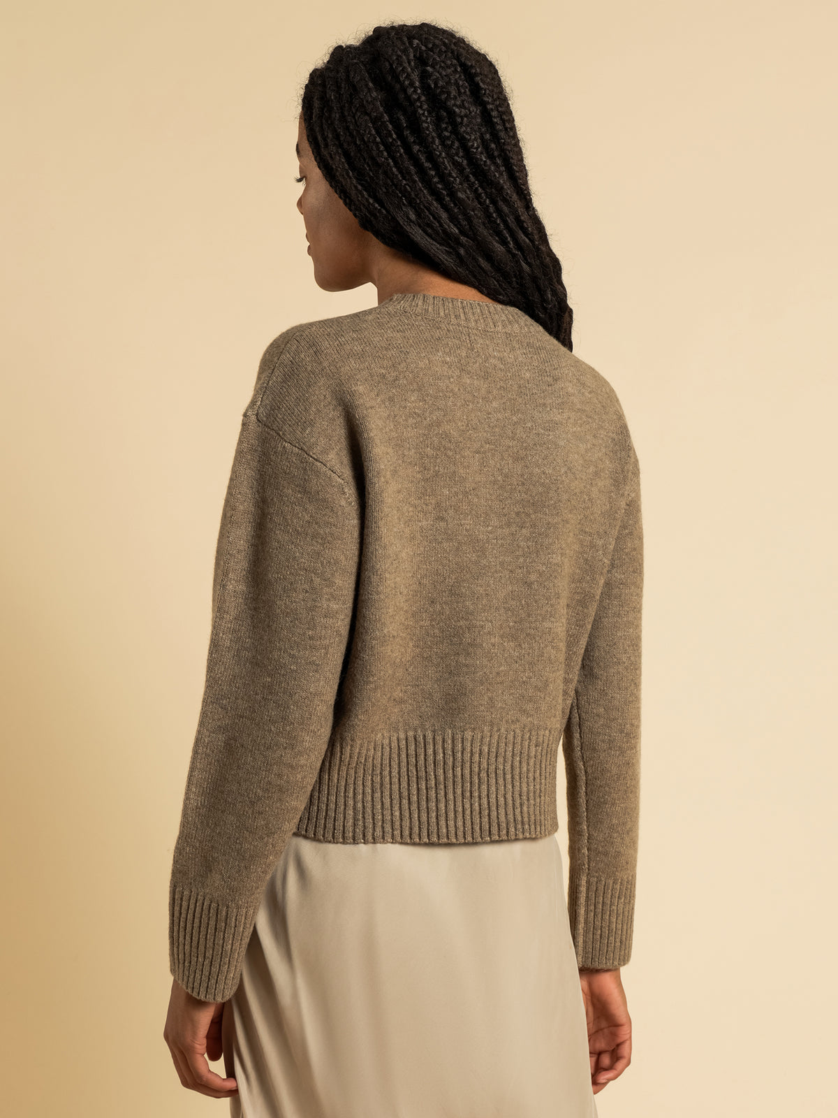 Ari Knit Jumper in Mocha