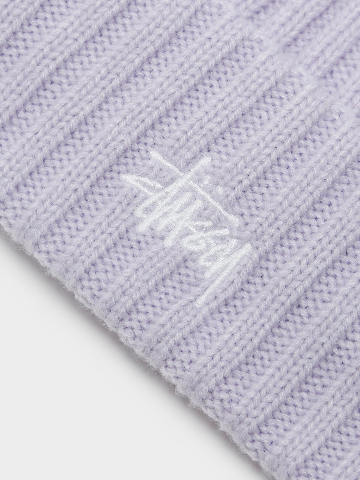 Graffiti Knit Beanie in Orchid