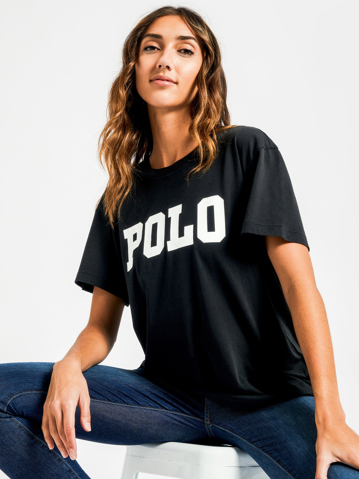 Big Polo T-Shirt in Black