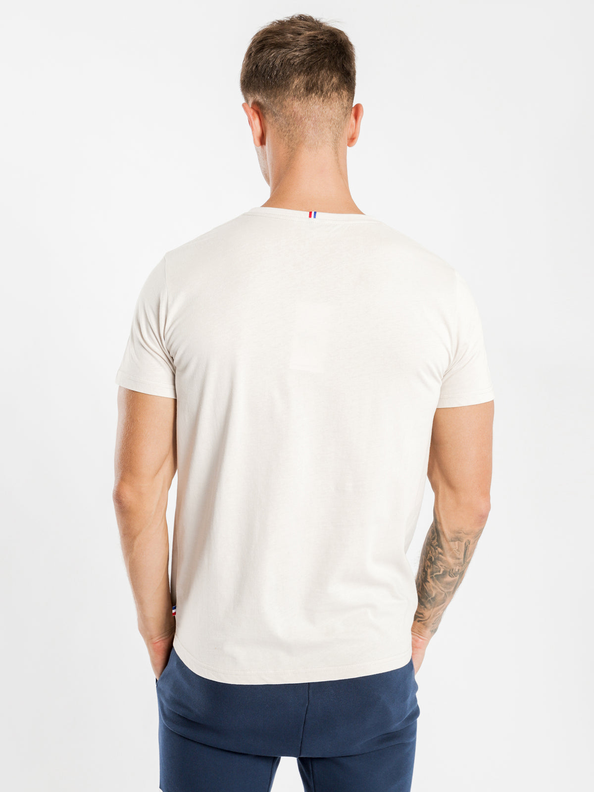Essentiel Logo T-Shirt in Sand