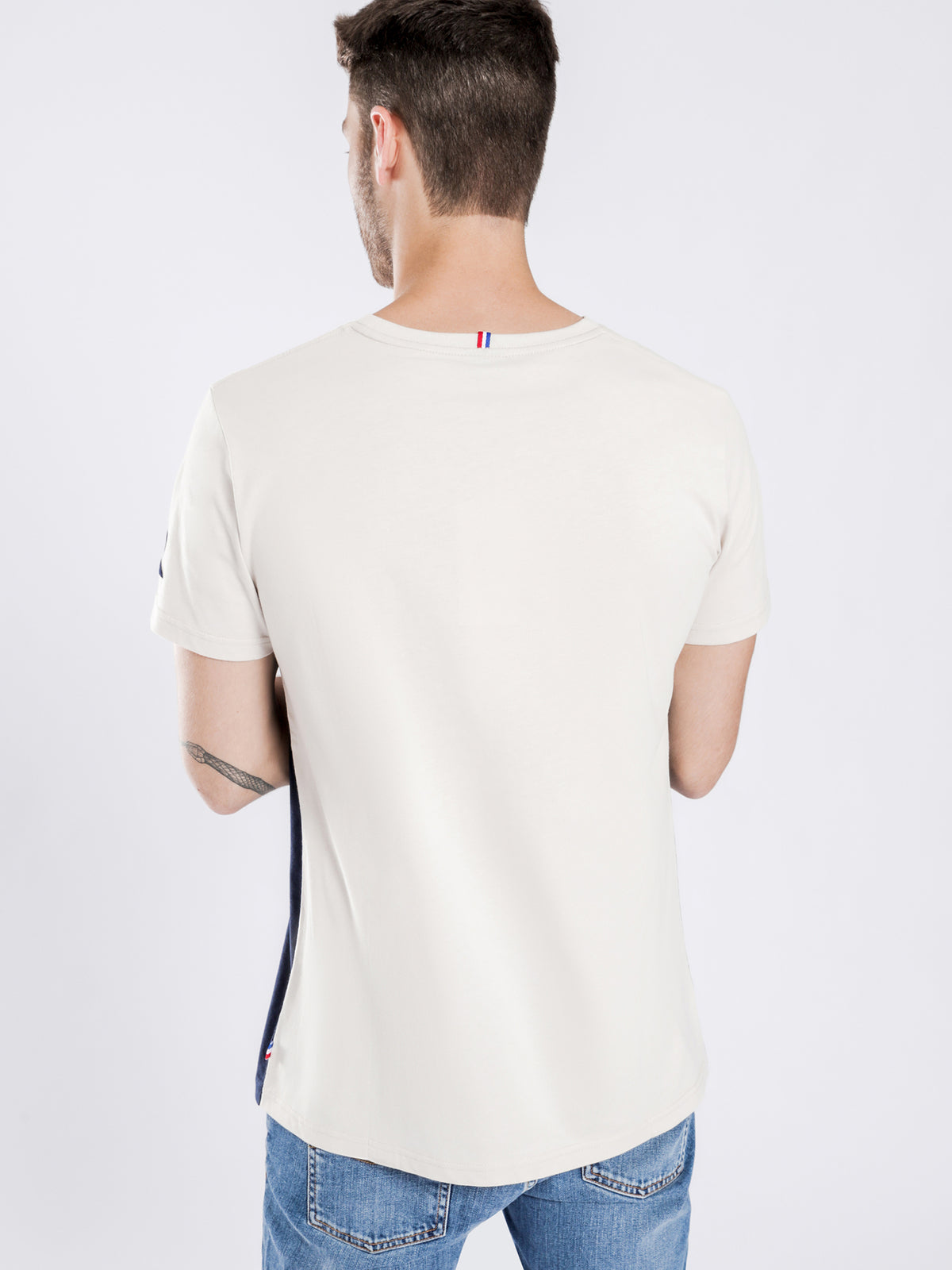 Timon Short Sleeve T-Shirt in Sand