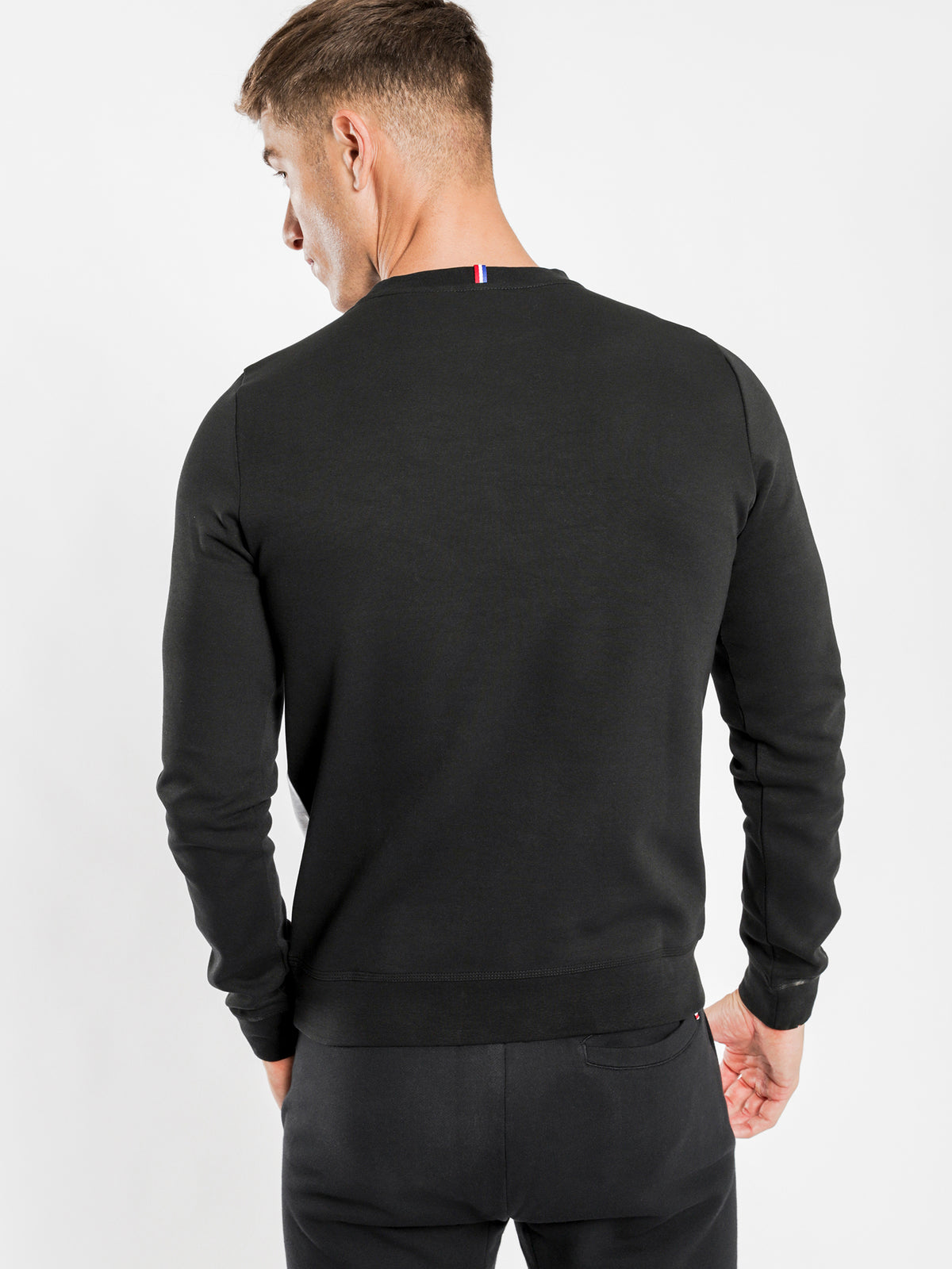 Timon Pullover Sweat in Black