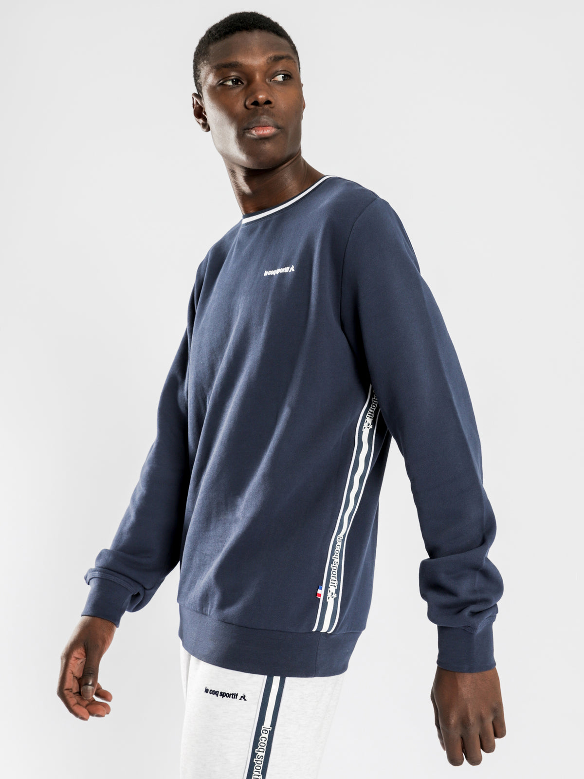 Maison Pullover Sweat in Navy Blue