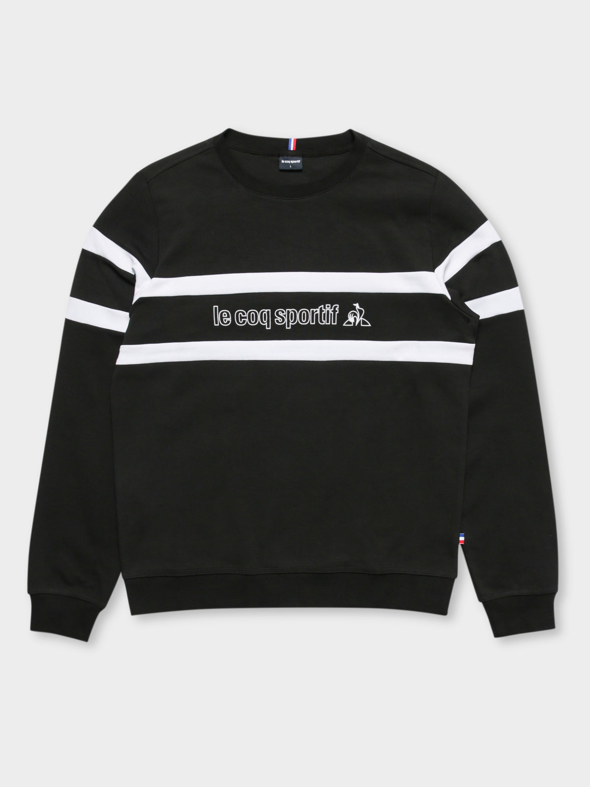 Clovis Pullover Sweat in Black