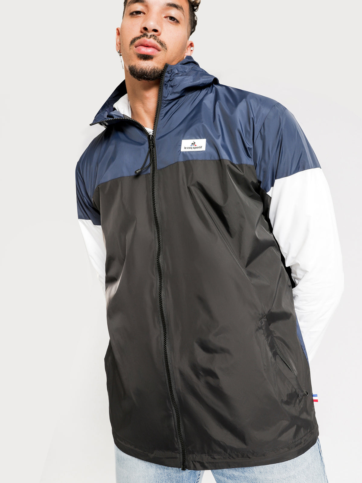 Gower Spray Jacket in Blue