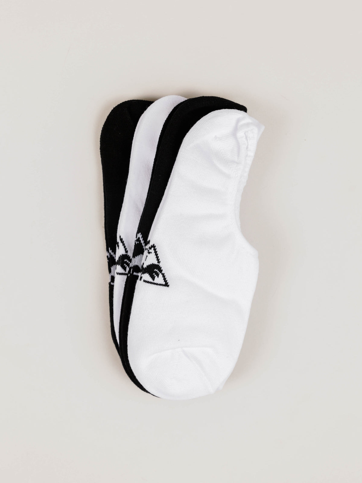 Plainer Socks in White & Black