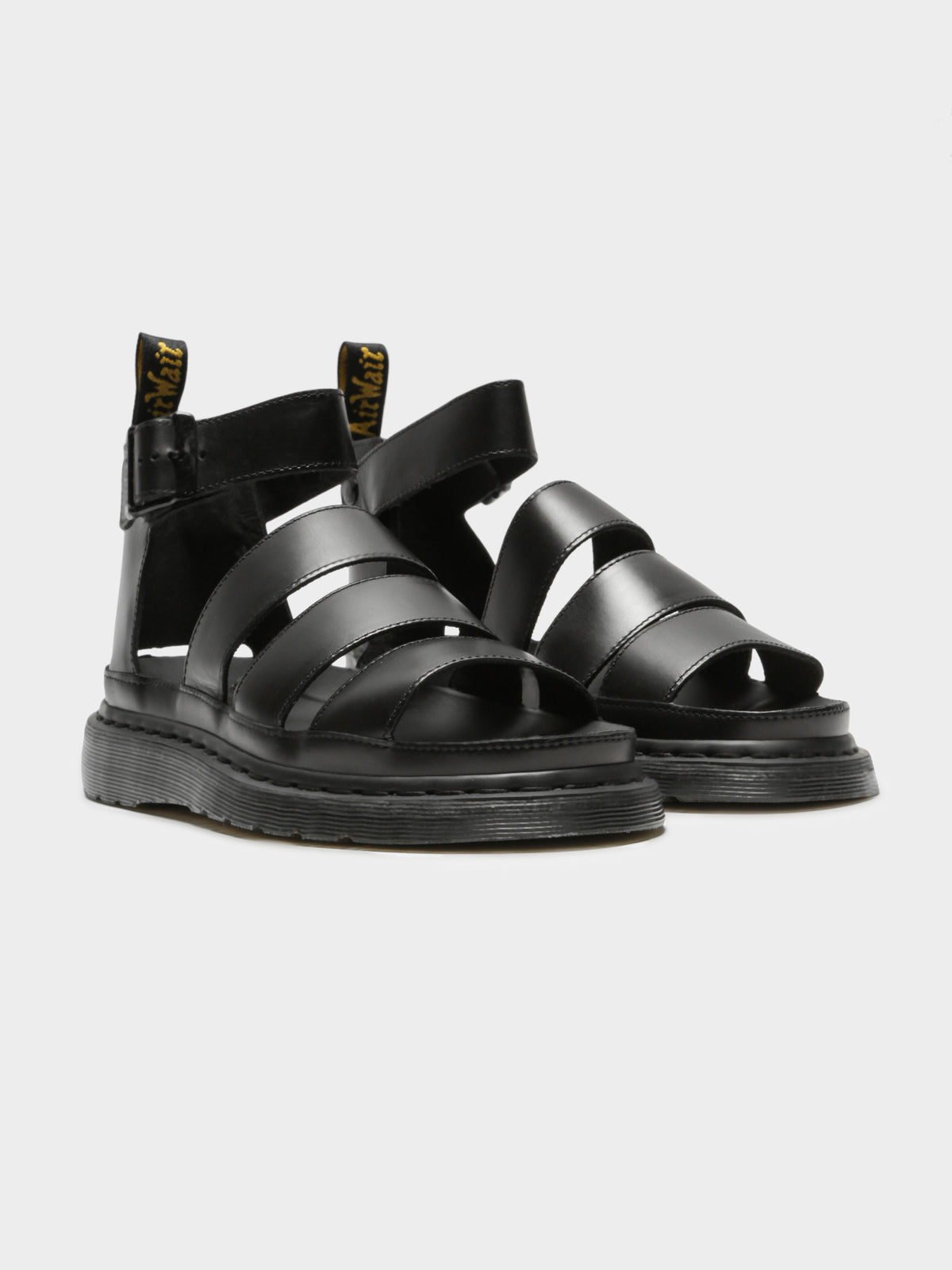 Clarissa II Brando Sandals in Black