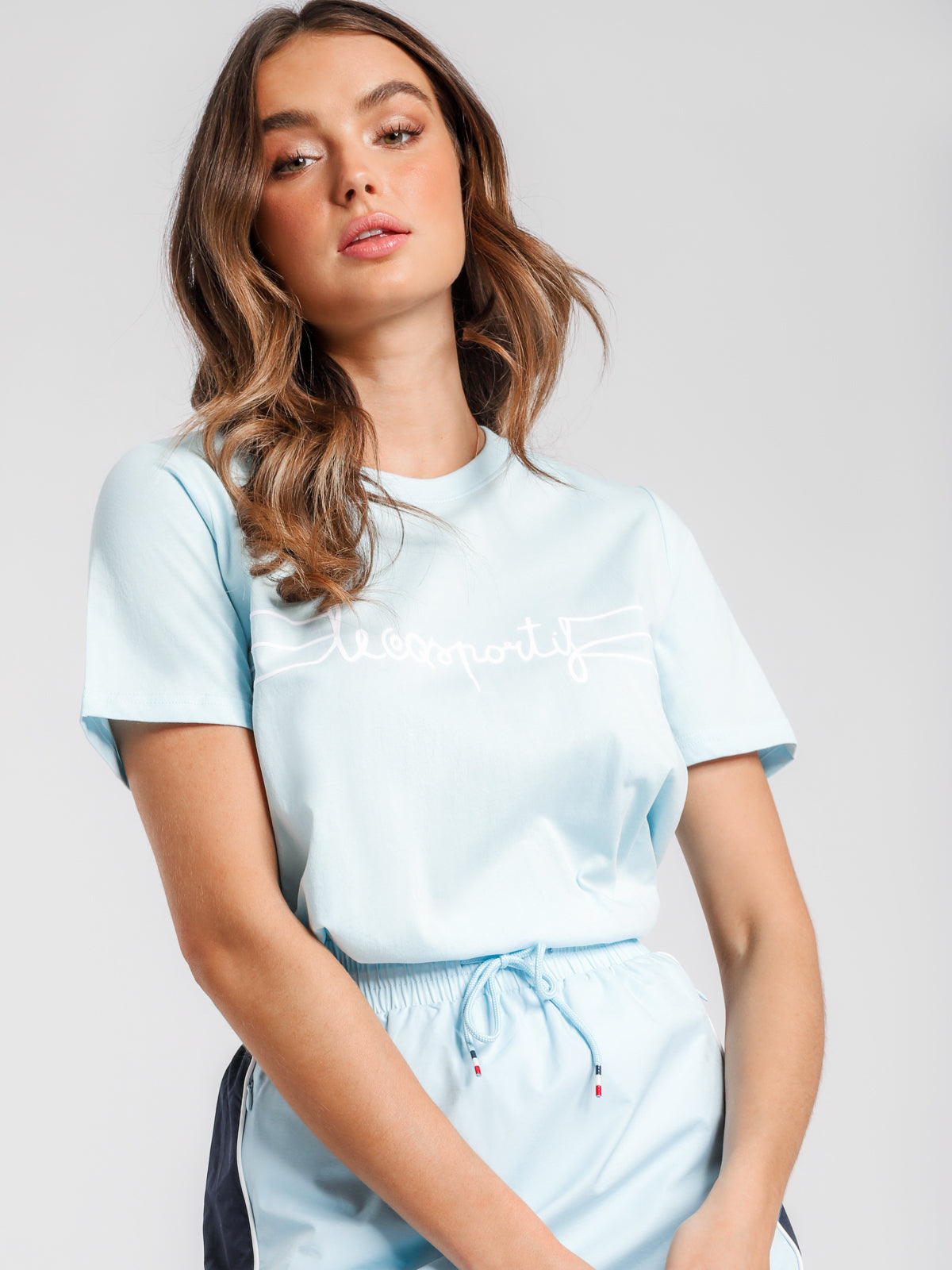 Adrienne T-Shirt in Cool Blue